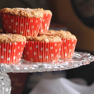 High Protein Apple Sauce Muffins.
