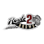 Logo of Route 2 Brews Stacked