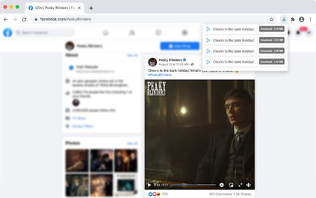 اضافة تحميل الفيديو عبر أي موقع لجوجل كروم