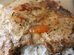 Creamy Apricot Pork Chops Recipe