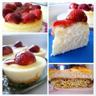 Light Strawberry Cheesecake