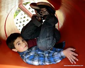 Photo: Playing at the playground