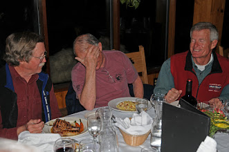 Photo: Randy, Chuck, and Mike; wasn't it macaroni and cheese that you wanted us to order?