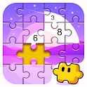 Jigsaw Coloring Puzzle Game - Free Jigsaw Puzzles icon