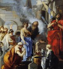 Photo: - Le Sacrifice de Jephté (Lyon, musée des Beaux Arts) - Sébastien Bourdon