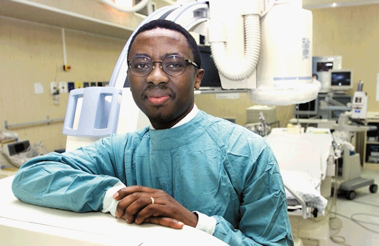 Prof Bongani Mayosi. Picture: SUNDAY TIMES