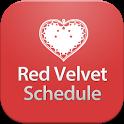 Red Velvet Schedule icon