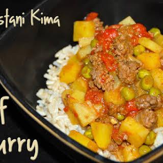 Venison or Beef Curry (Pakistani Kima).