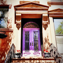 """Photo: """"Charm...""""  I came across this beautiful purple door recently while walking around Cobble Hill, Brooklyn. I have discussed my extreme brownstone envy in previous posts here: http://goo.gl/n2Bwh . But this entrance took that heart skipping envy to a whole new level. As if brownstones in Brooklyn couldn't get any more charming!  This is my weekly mobile photography post. I am @newyorklens on Instagram (view my feed here: http://goo.gl/8hbcE ). You can check out some of my Instagram photos on Flickr here: http://goo.gl/BxNpG . Additionally, you can view my phone photography for sale here: http://1-vivienne-gucwa.instaprints.com/     I have made the decision to stop segregating my phone photography to another album because quite honestly I feel aspassionatelyabout it as I do my regular photography.    View this post over at my website if you wish:  http://nythroughthelens.com/post/26778310978/purple-door-on-a-brooklyn-brownstone-cobble-hill  -  Tags: #photography  #nyc  #newyorkcity  #newyorkcityphotography  #brooklyn  #architecture  #purple  #home  #door  #mobilephotography  #phonephotography  #iphonography  #iphone4s  #instagram  #beautiful"""