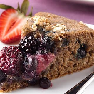 Mixed Berry Whole-Grain Coffee Cake Recipe