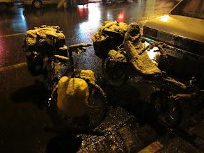 Photo: Arrivée a Tabriz sous la neige!
