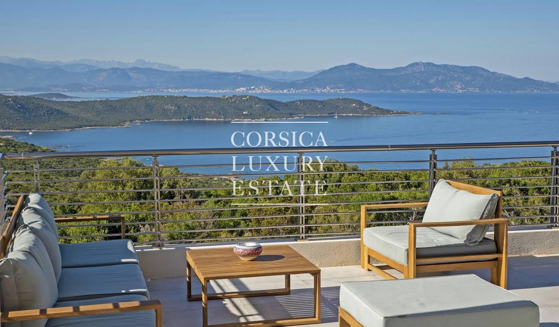 Villa avec piscine et terrasse Coti-Chiavari
