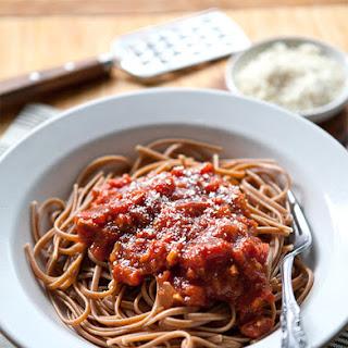 Spicy Slow Cooker Pasta Sauce.