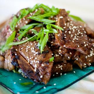 Korean Kalbi Beef Ribs