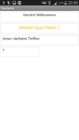 android Mentor Sport Nach 1 Screenshot 0