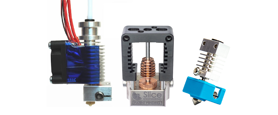 Whether you need a hotend that prints at 250°C or 300°C, MatterHackers has a variety of reliable extruder options that cater to your specific print needs.