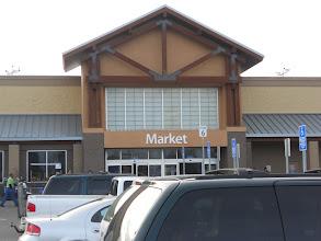 Photo: Heading into the Walmart Super Center Market side.