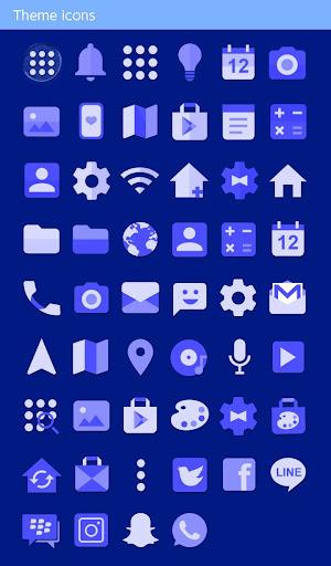 Beautiful Theme Blue Chaouen 1.0.0 Windows u7528 4