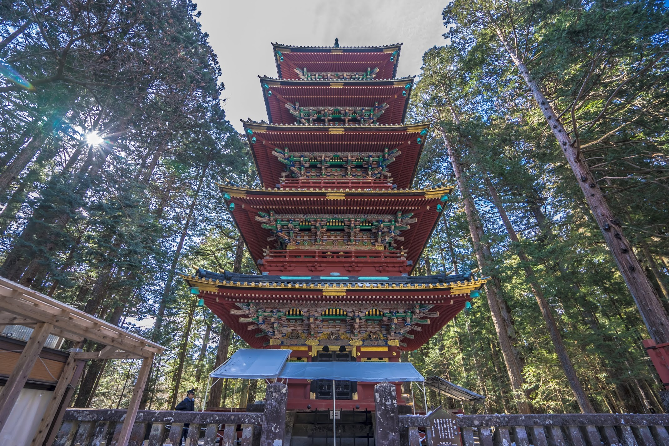 Nikko Toshogu Shrine Five-Story Pagoda1