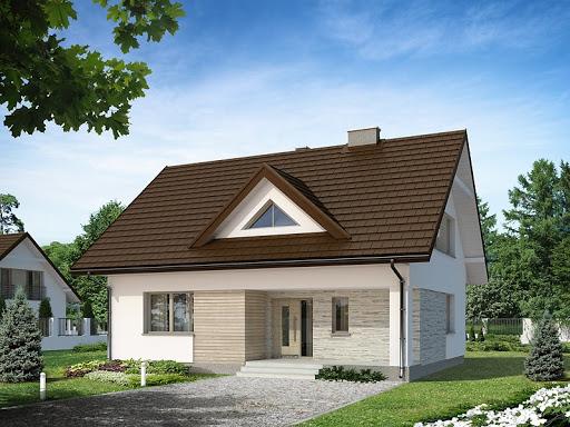 projekt domu Indygo 4 MC