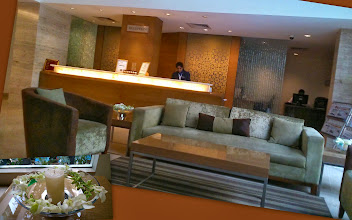 """Photo: Our """"home"""" in Bangalore, Adarsh Hamilton (http://www.tripadvisor.com/Hotel_Review-g297628-d1818764-Reviews-Adarsh_Hamilton-Bangalore_Karnataka.html) located in Richmond Circle. Extremely clean hotel welcomes you with fresh """"sabon"""" fragrance in all over the premise. Friendly staffs and the varieties of yummy food choices at the restaurant. Sometimes, we get a double room at around 2500 INR per night when we book through a package plan on the travel websites such as ClearTrip. Japanese restaurant """"Harima (http://www.hirogroup.com/harima.htm)"""" is located quite near from the hotel. 22nd March updated (日本語はこちら) -http://jp.asksiddhi.in/daily_detail.php?id=490"""