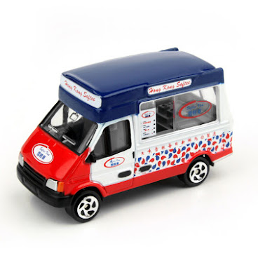 Tiny城市合金車仔06 - 雪糕車