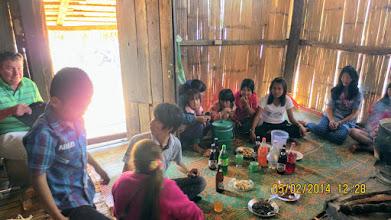 Photo: Kae Noi Lahu village with Dr. Martin