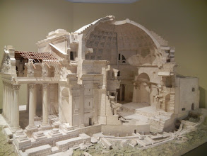 Photo: Rome Pantheon model at the DaVinci National Museum of Science and Technology