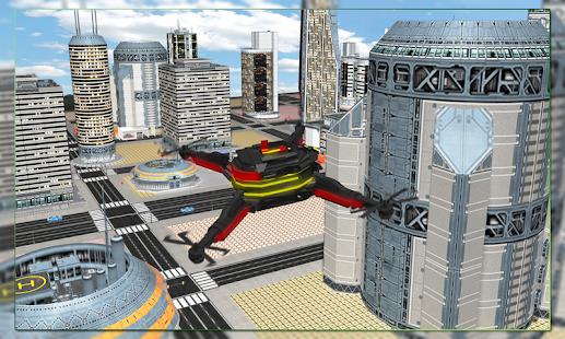 Multirotor Drone - náhled