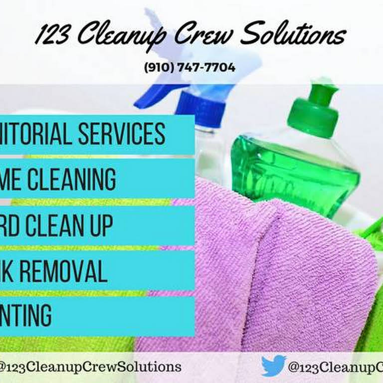 123Cleanup Crew Solutions | Cleaning Service - An affordable