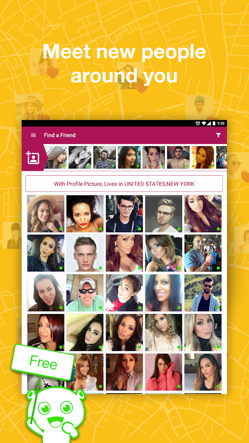 Screenshots of Waplog Chat & Free Dating for iPhone