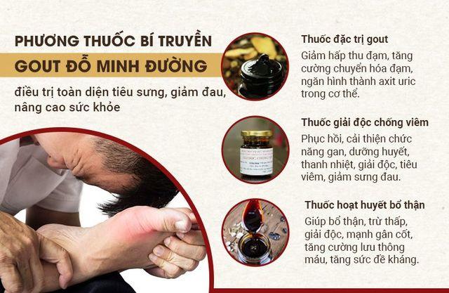 Bệnh gout là gì? Đỗ Minh Đường - Địa chỉ uy tín chữa gút bằng thảo dược sạch - Ảnh 2