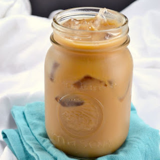 Healthy Instant Iced Coffee.
