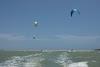 Sri. Lanka Kalpitiya Kiteboarding. Downwind to Ippantivu Island