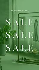 St. Patrick's Day Sale - Instagram Story item