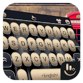 3D Metal Piano Keys Keyboard Theme