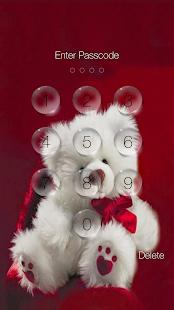 App Teddy Bear Pin Lock Screen APK for Windows Phone