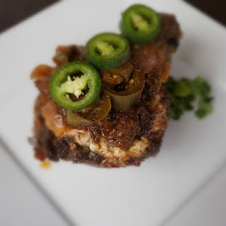 Sweet and Spicy Jalapeno Plum Sauce over Pork Sirloin