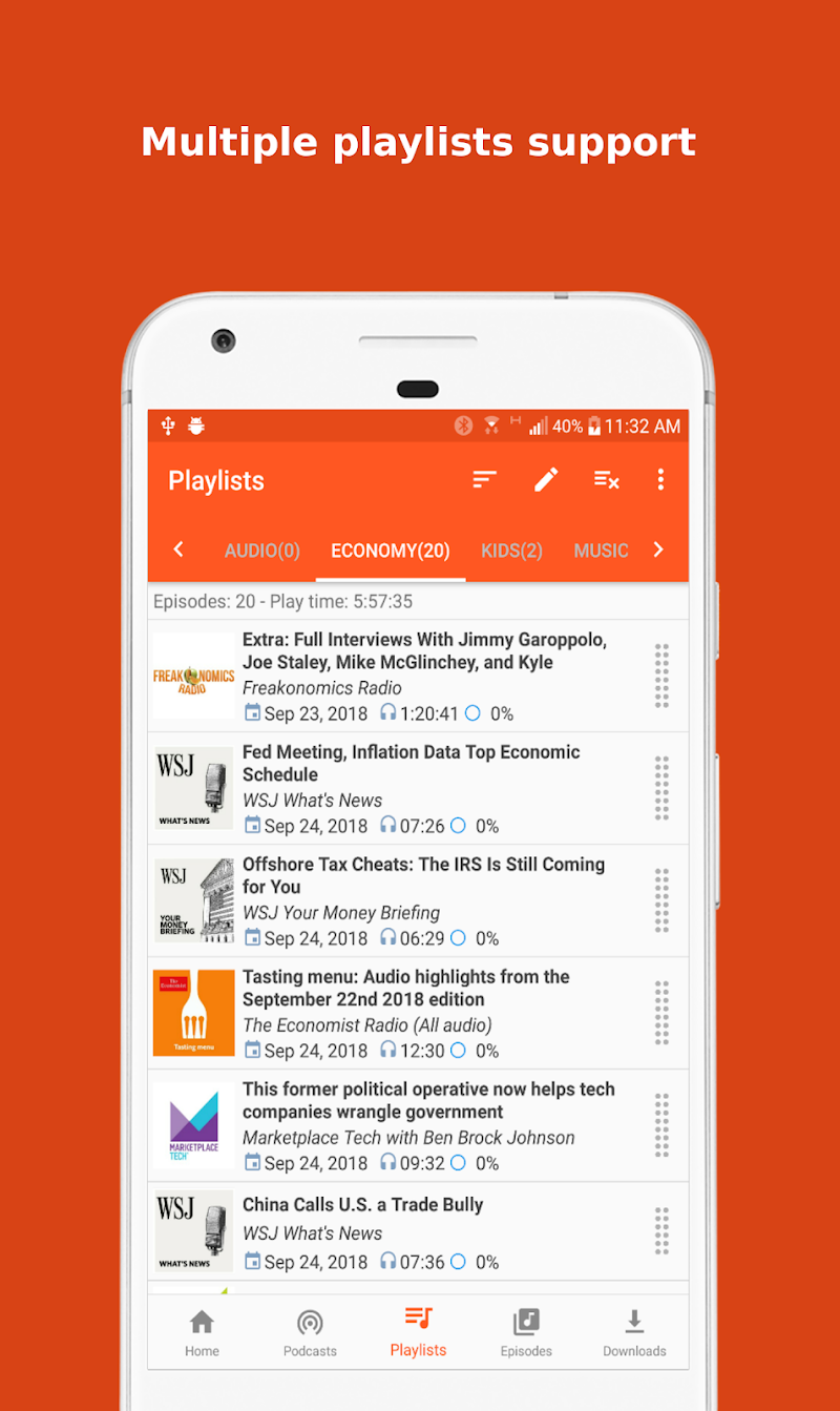 Podcast Republic - Podcast and Radio Player App Screenshot 3