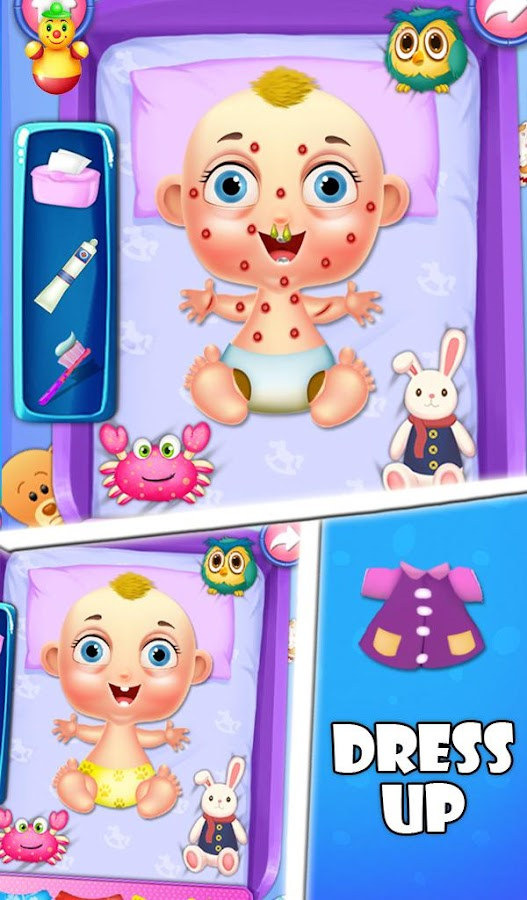 My LittleBaby Care And Dressup- screenshot