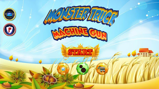 Download Monster Truck Machine Gun! For PC Windows and Mac apk screenshot 1