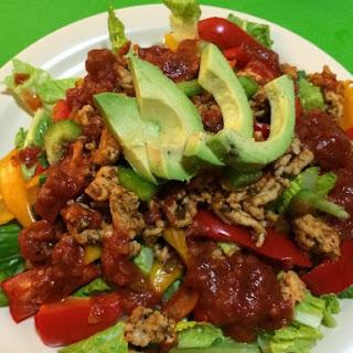 Paleo Southwest Salad.