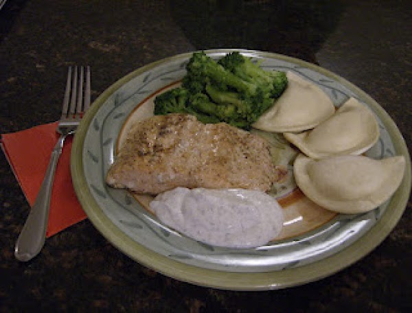 Grilled Salmon With Dill Sauce Recipe