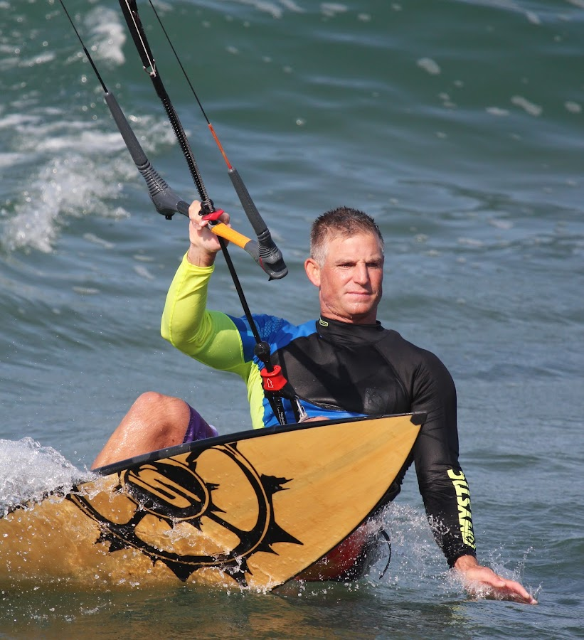 Kiting in Umdloti by Maz Tissink - Sports & Fitness Watersports ( water, speed )