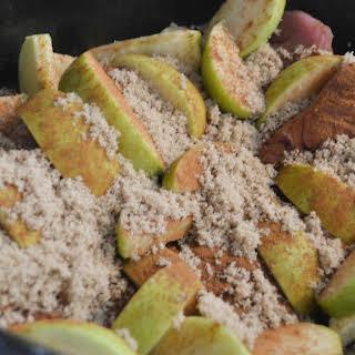 Crockpot Pork and Apples.