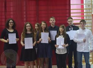 Photo: Laureaci Wojewódzkich Konkursów Przedmiotowych 2014