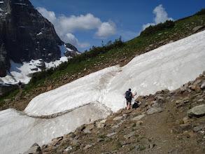 Photo: Wenkchemna Pass, Alberta. 16 juillet 2009 Morraine Lake & Valley of the Ten peaks, Eiffel Lake