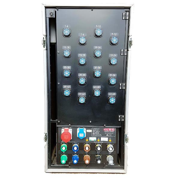 48Way LSC Dimmer Rack rear