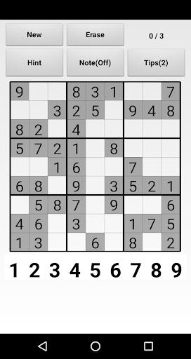 Sudoku  captures d'écran 1