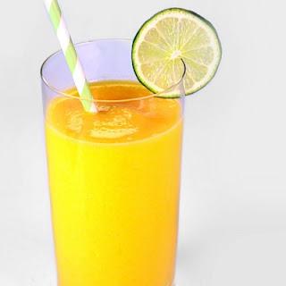 Mango-Pineapple Smoothie.